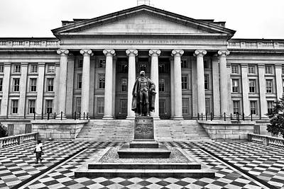 Lender Photograph - Department Of The Treasury II by Kenneth Ortiz