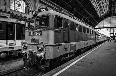 Photograph - Departure From Budapest by Pablo Lopez