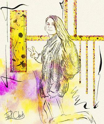 Phil Clark Digital Art - Departure by Phil Clark