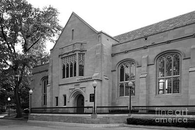 Depaul University Cortelyou Commons Print by University Icons