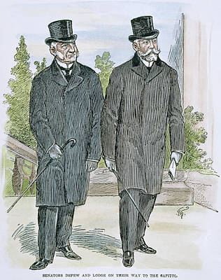 Chauncey Drawing - Depew And Lodge by Granger