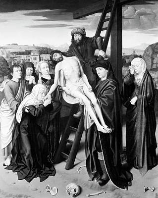 Crucifix Painting - Deposition Of Christ by Granger
