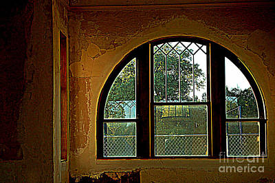 Photograph - Depot Window by Anjanette Douglas