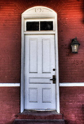 Photograph - Depot Door by Rebecca Hiatt