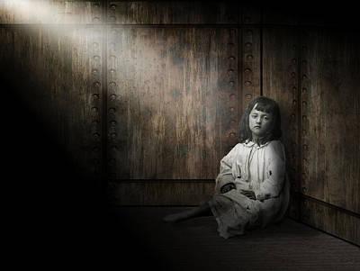 Dungeon Digital Art - Depression by Daniel Hagerman
