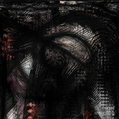 Depressive Torments Art Print by Ashantaey Sunny-Fay