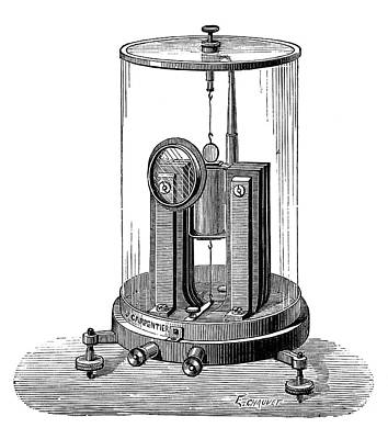 Electric Current Photograph - Deprez-d'arsonval Galvanometer by Science Photo Library