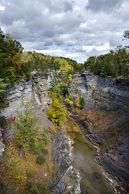 Photograph - Gorge Landscape by Christina Rollo