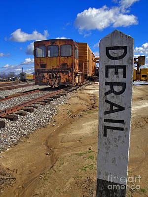 Photograph - Derailed by Gregory Dyer