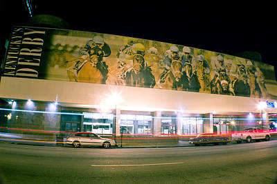 Photograph - Derby Artwork On Building by John McGraw