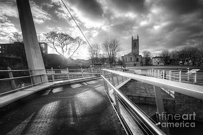 Photograph - Derby Cathedral Footbridge by Yhun Suarez