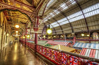 Photograph - Derby Market Hall Balcony by Yhun Suarez