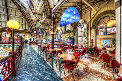 Photograph - Derby Market Hall Cafe by Yhun Suarez