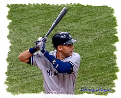 Derek Jeter Original by Dennis Dugan