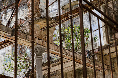 Photograph - Derelict Behind Bars. by Rob Huntley