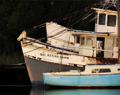 Photograph - Derelict Boats by Deborah Smith