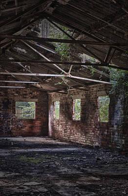 Derelict Building Print by Amanda Elwell