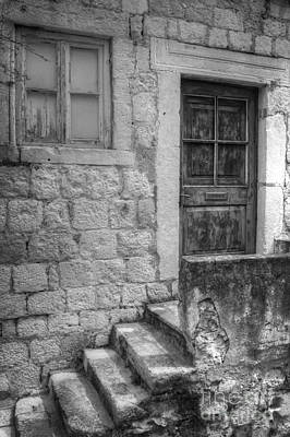 Photograph - Derelict Dubrovnik House by David Birchall