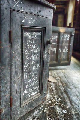 Derelict Photograph - Derelict Factory Door by Russ Dixon