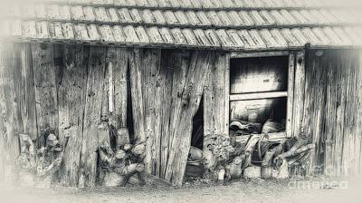 Photograph - Derelict by Jutta Maria Pusl