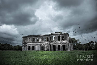 Derelict Mansion  Print by Svetlana Sewell