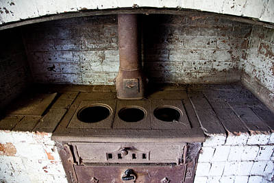 Photograph - Derelict Oven by Carole Hinding