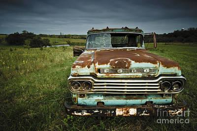 Photograph - Derelict by Ryan Heffron