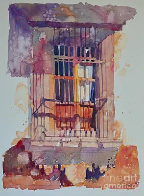 Derelict Window Art Print