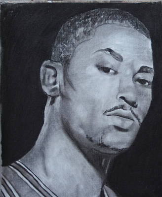 Derrick Rose Original by Aaron Balderas