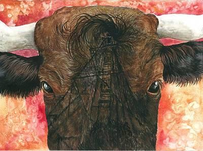 Derricks And Cowlicks Original by Kim Whitton