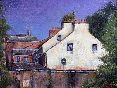 Wall Art - Painting - Derry Gables by Jim Gola
