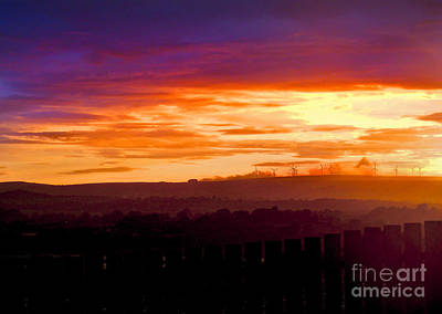 Photograph - Derry Sunset by Nina Ficur Feenan