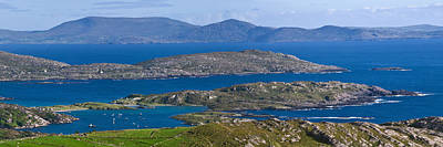 Photograph - Derrynane Bay Panorama by Jane McIlroy