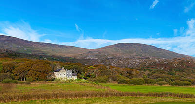 Daniel Photograph - Derrynane House The Home Of Daniel by Panoramic Images
