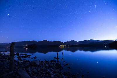 Blue Photograph - Derwent Stumps by Craig Hulmes