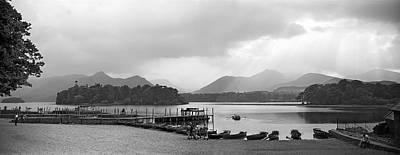 Derwent Water In The Lake District Of England Art Print by David Murphy