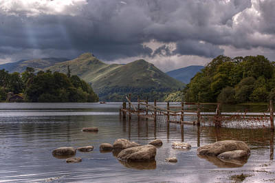 Derwent Water Towards Catsbells Art Print