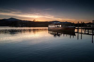 Cargo Boats - Derwentwater  by Dave Hudspeth