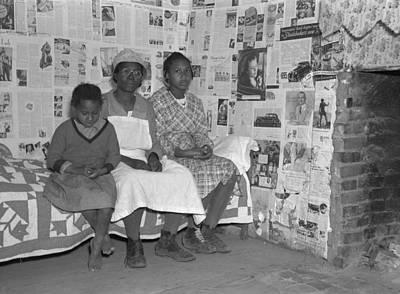 Descendant Photograph - Descendants Of Slaves, 1937 by Granger