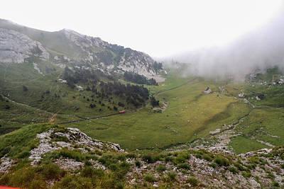 Photograph - Descending Mount Pilatus by Marilyn Burton