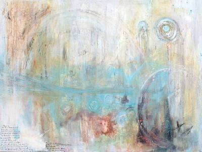 Religious Art Mixed Media - Descent Of The Archons The Great Flood by Talvi Winter