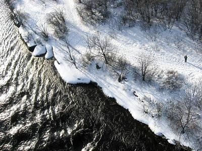 Photograph - Deschenes Rapids Shoreline And Me by Rob Huntley