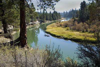 Deschutes River Photograph - Deschutes River In Autumn by Bonnie Bruno
