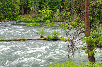 Deschutes River Photograph - Deschutes River In Central Oregon by Jess Kraft