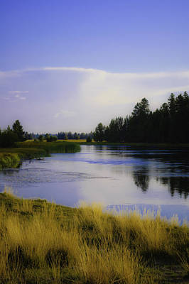 Photograph - Deschutes River by Sherri Meyer