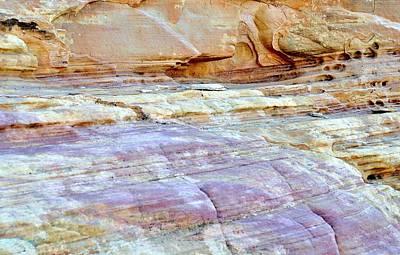 Photograph - Desert Abstracts 1 by John Hintz