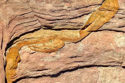 Photograph - Desert Abstracts 18 by John Hintz