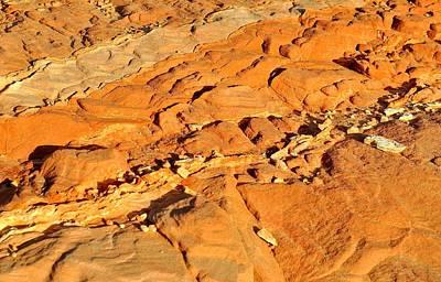 Photograph - Desert Abstracts 3 by John Hintz