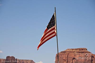 Photograph - Desert America by Susan Herber
