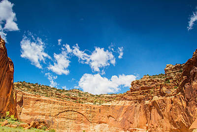 Photograph - Desert Amphitheater by Kunal Mehra